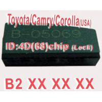 Quality Toyota / Camry / Corolla 4D68 Duplicable Chip B2XXX Auto Key Transponder Chip wholesale