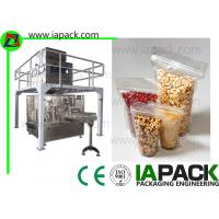 Quality Automatic Premade Pouch Packing Machine For Seed Stand-Up Zip Bag Packing machine wholesale