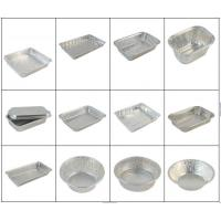Quality Fast Food Aluminium Catering Trays / Aluminum Foil Tray Half Hard Temper wholesale