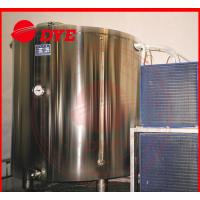 Cheap 5BBL Cold-drawing Storage Water Tank For Beer , Stainless Steel Jacketed Tanks for sale