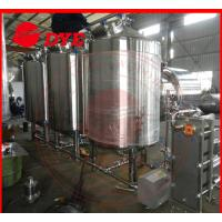 Quality 500L Semi-Automatic Cip Cleaning System For Beer Brewery Equipment wholesale