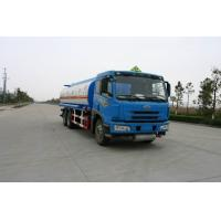 China 220HP FAW 6x4 22000L (5,811 US Gallon) Oil Tank Truck for Diesel / Gasoline / Petroleum Delivery on sale
