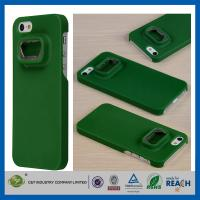 Quality Green Hard Plastic Iphone 5S Apple Cell Phone Cases , Anti-Shock Mobile Phone Case wholesale