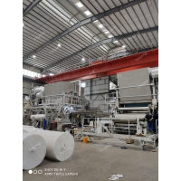 China 3200mm 15T/D Jumbo Roll Toilet Tissue Paper Making Machine Toilet Tissue Roll High Speed Machine on sale