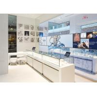 Quality LED Lights Decorated Custom Glass Display Cases / Shop Display Cabinets wholesale
