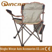 Quality Polyester Outdoor Folding Chair , Vehicle Camping Accessories wholesale