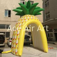 Cheap cheap vivid inflatable promotion booth inflatable pineapple tent for sale