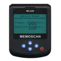 Quality Wl320 Wireless Super Memo Automotive Diagnostic Scanner 280mAH 3.7V wholesale