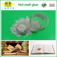 Quality Resin Polyester Hot Melt Adhesive For Spine Bookbinding , White Granule wholesale