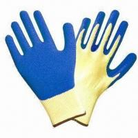 Quality Latex-coated Working Gloves for Hand Protection wholesale