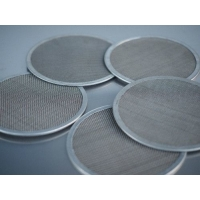 Powder Coating 0.08inch Stainless Steel Filter Disc Mesh Cylinder Strainer for sale