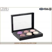 Sparkly Makeup Eyeshadow Palette For Blue Eyes Waterproof Feature