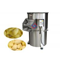 Quality Simple Fruit And Vegetable Peeler Machine Ginger Potato Skin Washing And Peeling wholesale