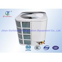 Quality Commercial Food Refrigeration Compressor Rack With PLC Safety Auto Control wholesale