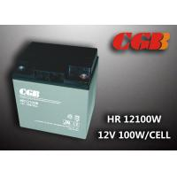 Quality 12V 28ah High Rate Rechargeable Vrla Battery , Agm Separator Sealed Deep Cycle Battery wholesale