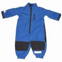 Quality Children's/baby overall, made of polyester fabric, waterproof and breathability wholesale