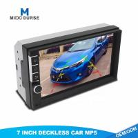 China 7 Inch Car 2 DIN Bluetooth Audio In Dash Touch Screen Car monitor Car Audio Stereon MP3 MP5 Player USB Reverse Cam Suppo on sale