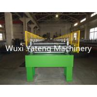 Chain Driven Door Frame Making Machine , Wall Panel Roll Forming Machine 1 Year Warranty
