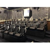 Quality Genuine Leather Electric Mobile 5D Cinema Equipment For Business Center wholesale