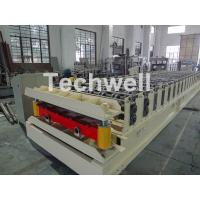 Quality Wall Cladding Roof Roll Forming Machine , Metal Forming Equipment Yield Strength 250-350Mpa wholesale