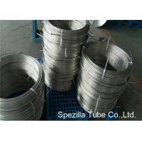 Quality Instrumentation Stainless Steel Coil Tubing , ASTM A213 TP304 Polished Stainless Steel Pipe wholesale