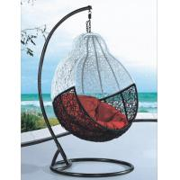 Quality living gazebo rattan hanging swing chair with UV-RESISTANT wholesale