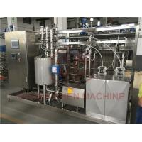 China Small Fruit Juice Processing Equipment With Autoclave Sterilization Process on sale