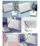 Quality wedding pen set and guest book wholesale