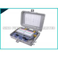 Quality SMC Fiber Distribution Cabinet 16 Core , IP55 FTTH Optical Distribution Box wholesale