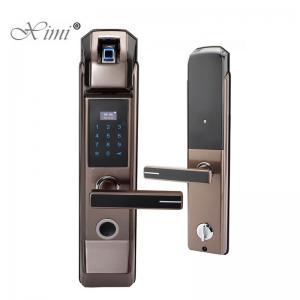 China Biometric Fingerprint RFID Door Lock For Front Door 40-100mm Thickness on sale