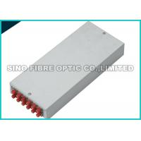 Quality Configured LC / SC Fiber Optic Termination Box Wall Mounted 12 Port Φ 8.5mm - 18mm wholesale