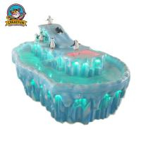 Quality Iceberg Painting Kids Art Table Unique Design For Cultivating Interactive Ability wholesale