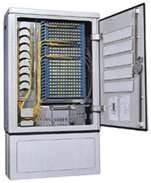 Quality High capacity, density fiber optic cabinet, optical cross connect cabinet wholesale