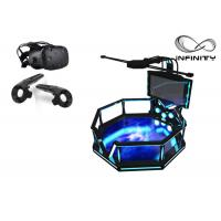 Quality 56 Inch Screen Virtual Reality Equipment , Steel Material 9D VR Game Machine wholesale