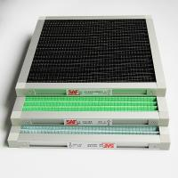 Quality Customized Primary Air Filtration Filters , Flat Panel Air Filter White & Green Color wholesale