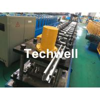 Quality Galvanized Steel Guiding Column Shutter Door Roll Forming Machine Thickness 1.5-3.0mm wholesale