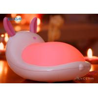 Quality Pink Color Novelty LED Night Lamp Light , Bright Night Light For Baby Kids wholesale