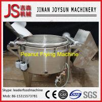 Quality Stainless No Pollution Lower Noise Peanut Batch Frying Machine wholesale