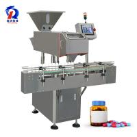 Quality Pill Capsule Tablet Counting Machine High Capacity Glass Bottle Fully Automatic Filling Machine wholesale