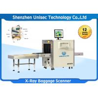 Quality Single View Baggage X Ray Security Systems High Sensitivity For Metro Station wholesale