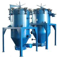 China edible crude palm kernel oil pressure leaf filter apply for cooking oil refinery machine line equipment high efficiency on sale
