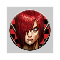 Quality Flip Badge One Piece 3D Lenticular Pin With Luffy Zoro Anime wholesale