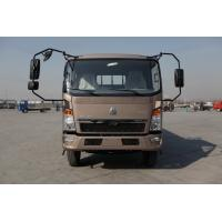 China HOWO 4x2 Light Duty Commercial Trucks Fuel Saving Brown Color 160hp 8.2t Rear Axle on sale