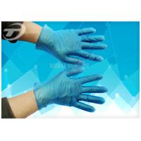 Quality Disposable Vinyl Exam Gloves White Blue Light Powder Free Exam CE Certifiacted wholesale