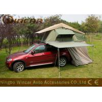 Quality Camping Car Roof Top Tent 4WD Car Side Awning With Riptop Canvas wholesale