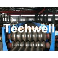 Quality Galvanized Plate / Steel Corrugated Sheet Roll Forming Machine for For Wall Panel wholesale