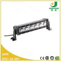 Quality High power 11.5 inch offroad IP67 CREE 60w Single Row LED Light Bar JX8808-60W wholesale