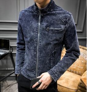 China Men's Fashion wholesales 100% cotton stone washed classical jacket/retro jacket on sale
