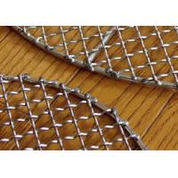 High Temperature Resistant Pre Crimped Wire Mesh Barbecue Grill Netting With