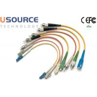 Quality Multi Mode Fiber Patch Cord Armored 4 12 48 Core For Telecommunication wholesale
